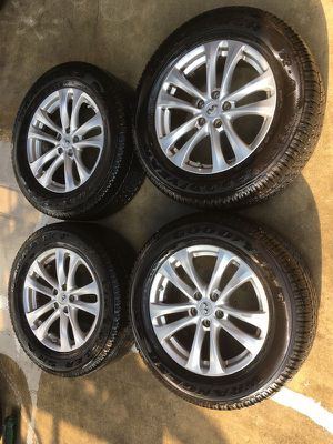 "2009 2010 2011 2012 2013 2014 2015 2016 2017 INFINITI FX35 QX70 18""INCH WHEEL RIM W/TIRES (SET OF 4) for Sale in Fort Lauderdale, FL"