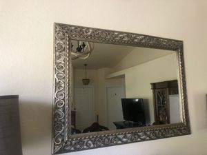 Silver wall mirror for Sale in Palmdale, CA