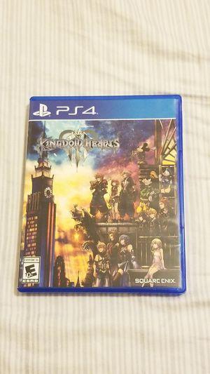 Kingdom Hearts 3 ps4 for Sale in Glendale, AZ