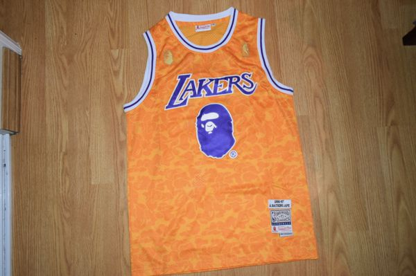 Lakers Bape Collab Jersey