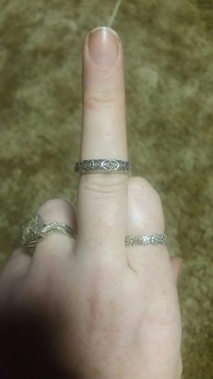 Pretty sterling silver ring for Sale in Centralia, WA