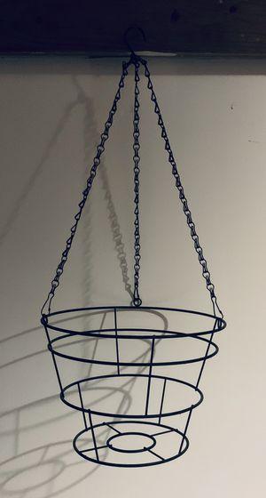 Metal Hanging Basket Flower Pot Holder for Sale in Parma, OH