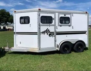 2 Horse All ALUMINUM Trailer for Sale in Wesley Chapel, FL
