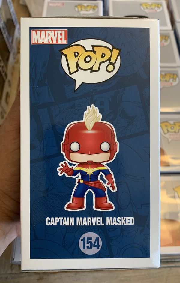 Funko POP! Marvel Masked Captain Marvel GTS Distribution Exclusive