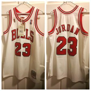 Michael Jordan Chicago Bulls throwback basketball jersey by Mitchell & Ness for Sale in PECK SLIP, NY
