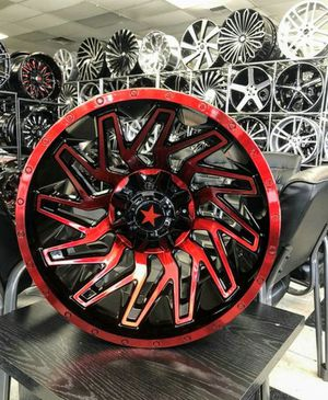 22x14 wheels and tires set 35125022 for Sale in Phoenix, AZ