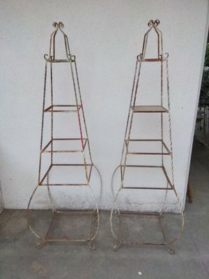 Vintage plant holders 6'+ tall for Sale in Fresno, CA