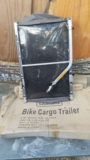 Folding bicycle cargo trailer for Sale in Whittier, CA