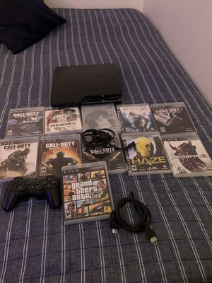 Ps3 and Games for Sale in Dallas, TX