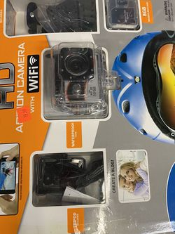 HD Action Camera With Wifi for Sale in Humble,  TX