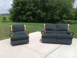 Reclining Loveseat and Chair for Sale in Pittsburgh, PA
