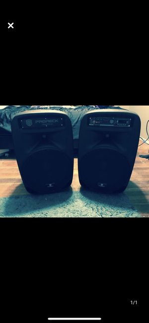 ProReck Party Speakers for Sale in San Jose, CA