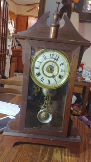 Antique F. Kroeber New York Clock eight days for Sale in Rahway, NJ