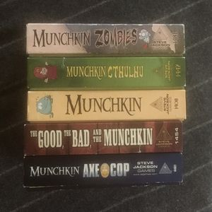 Munchkin Card Game: Assorted for Sale in Seattle, WA