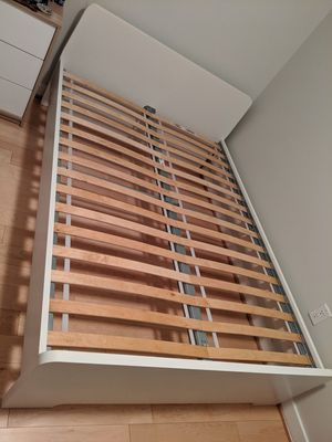 Ikea Askvoll bed frame and Luroy slates for Sale in Washington, DC