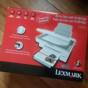 Brand New Lexmark x2480 All-in-One Printer Brand New, Never Opened sealed box for Sale in South Portland, ME