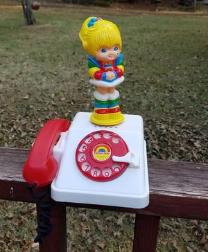 Hallmark Rainbow Bright Kids Toy Doll Telephone for Sale in Portland, OR