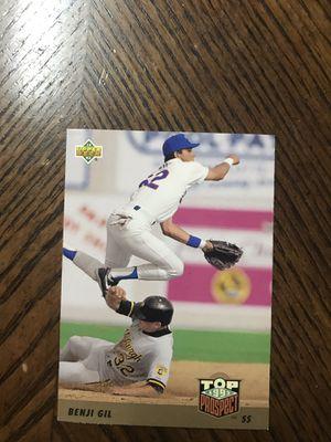 Baseball card Benji Gil for Sale in McDonough, GA