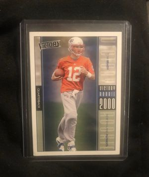 Tom Brady NFL 2000 Victory Rookie Card Rare Collectors Item New England Patriots for Sale in Washington, DC