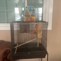 Bird Cage Includes Everything U Need for Sale in Richmond,  CA