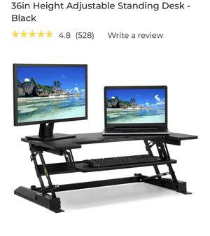 BCP height adjustable standing desk for Sale in Edison, NJ
