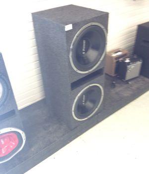 Qpower 15's Car speakers for Sale in Houston, TX