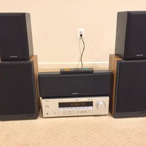 Yamaha Receiver And Polk Audio Speakers System for Sale in Silver Spring, MD
