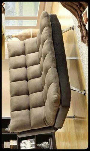 ✔FUTON✔ Sundown Espresso/Pebble Adjustable Futon Sofa for Sale in Brentwood, MD