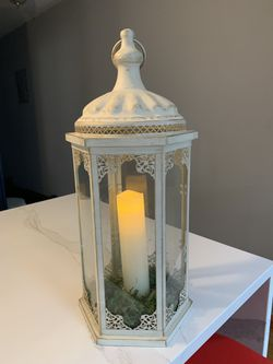 Pier1 large lantern - candle sold separately for Sale in Queens,  NY