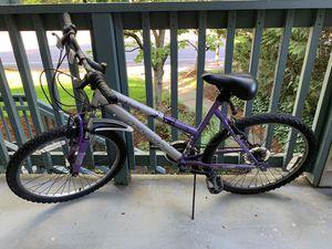 Manga Women's Mountain Bike, Purple for Sale in Tigard, OR