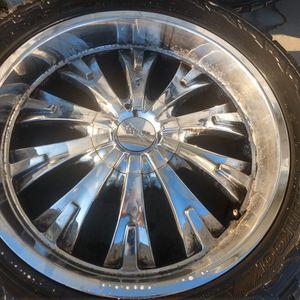 "22"" Cruiser Alloy Wheels (6 Bolt Pattern) for Sale in Albemarle, NC"