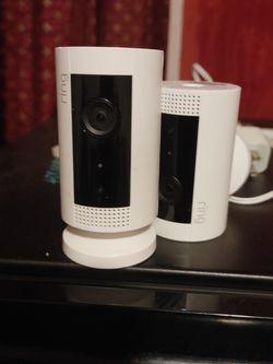 Ring White Camera Video Infrared for Sale in Shreveport,  LA