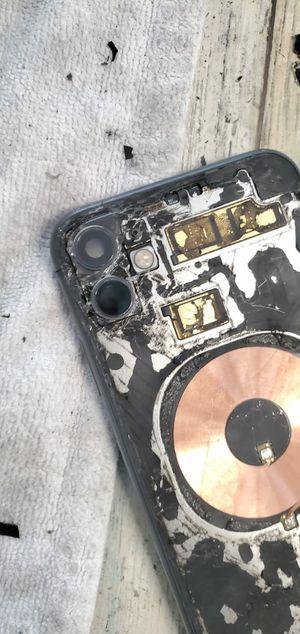 iPhone 11 shattered back for Sale in Denver, CO