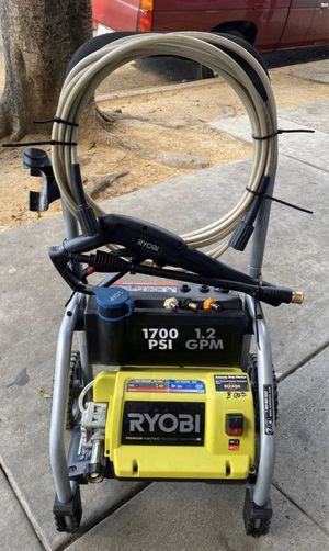Ryobi 1700PSL premium electric pressure washer for Sale in Los Angeles, CA