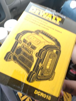 DeWalt radio for Sale in Colton, CA