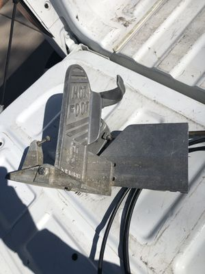 Out board boat foot pedal for Sale in Mesa, AZ