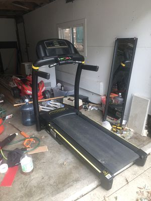 Treadmill & Punching Standing Bag for Sale in Mundelein, IL