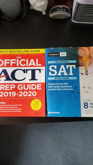 Two College Testing Practice Books for Sale in Livingston, NJ