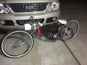 Ebike E-bike ebike electric bicycle 26inch beach cruiser.Ask me a cash offer no hold bs for Sale in Elk Grove, CA
