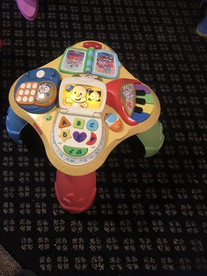 Fisher price table toy good working for Sale in Alexandria, VA
