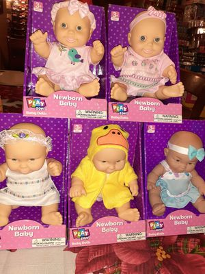 Dolls 8 each for Sale in Bloomington, CA