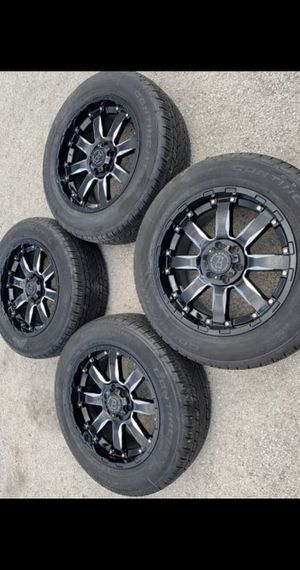 JRS Tire Shop in Dallas Address4821 W Jefferson Blvd Dallas Easy Financing Available w/ No Credit Check! Low payments for 12months New 20 inch Black for Sale in Dallas, TX