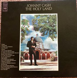"Johnny Cash ""The Holy Land"" Vinyl Album $8.05 for Sale in Ringgold, GA"