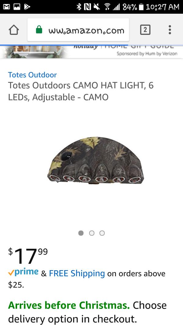 Hat light