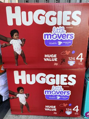 Pampers huggies size 4 for Sale in Torrance, CA