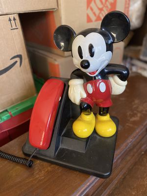 Retro Mickey Mouse Telelephone for Sale in Washougal, WA