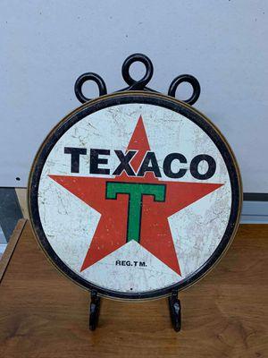 Texaco tin sign for Sale in Lakeland, FL