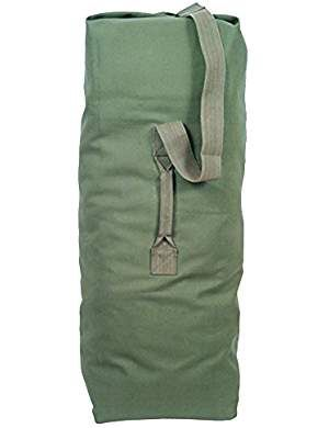 Pre owned green duffle bags for Sale for sale  Queens, NY