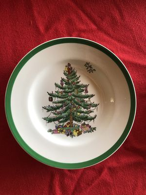 Spode Christmas Tree china- 4 place settings for Sale in Mukilteo, WA