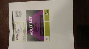 Bears Adler lot parking pass for Sale in Downers Grove, IL